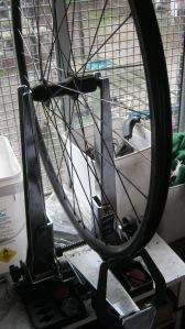 wheel true stand